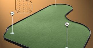 Tour Links puttigreenit golfkentälle, kotiin ja toimistoon